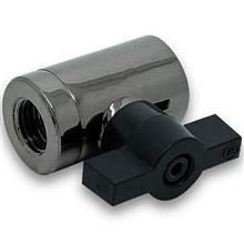 Ekwb EK-AF Ball Valve (10mm) G1/4 Black Nickel